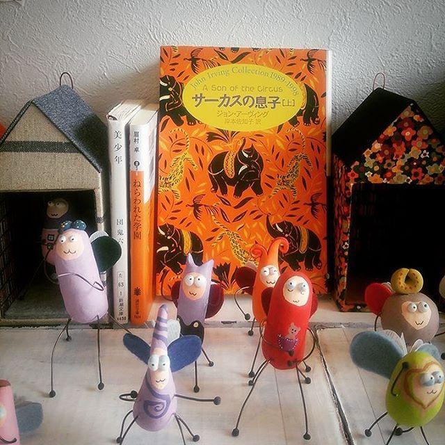 『サーカスの息子』ジョンアーヴィング岸本佐知子(訳)  新潮社#books #instabooks #booklovers #bookworms #readingbugs #本#読書倶楽部#活字中毒#読書