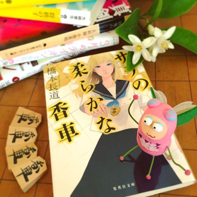 『サラの柔らかな香車』橋本長道  集英社文庫#book #books #instabooks #booklovers #bookworms #readingbugs #本 #本の虫 #読書倶楽部 #橋本長道 #小説 #将棋 #shogi